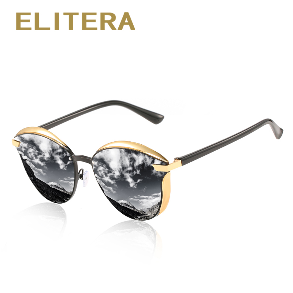Top SaleELITERA Shades Eyeglasses Driving Classic Female Vintage Polarized Women