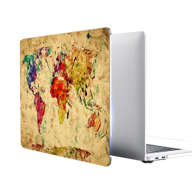 Retro World Case for MacBook 2
