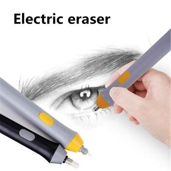 Electric Eraser Effortless Clean Automatic Rotation Sketch