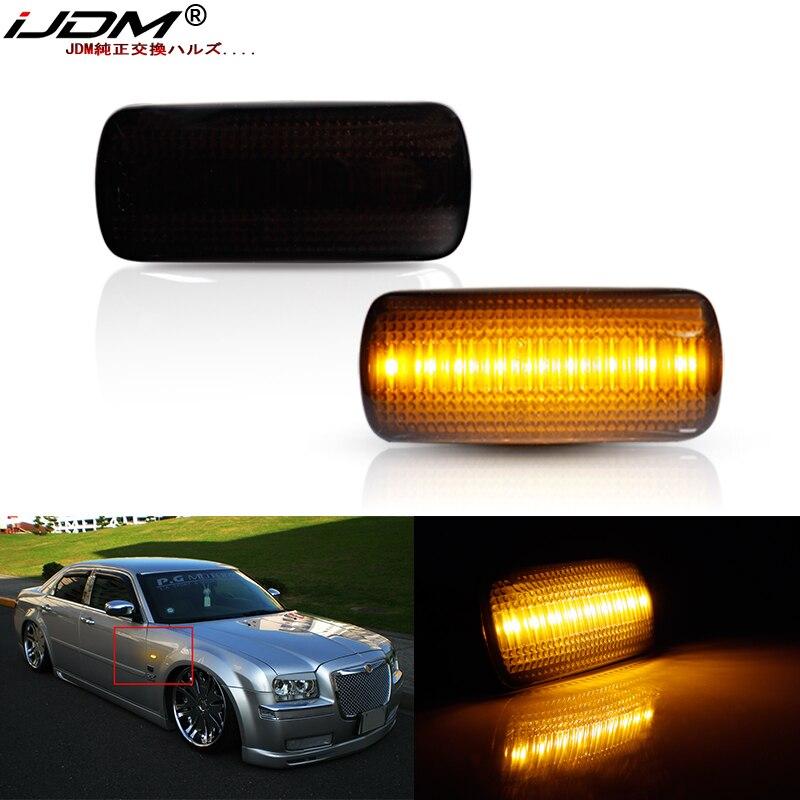 IJDM Янтарный 12v светодиодный передний боковой габаритный светильник для Chrysler 200 300 Sebringown & Страна указатели поворота, замена OEM Sidemarker лампы