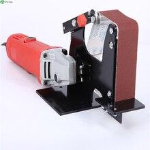 Metal angle sander belt accessory wood sanding belt adapter use 100 HT2376 angle grinder