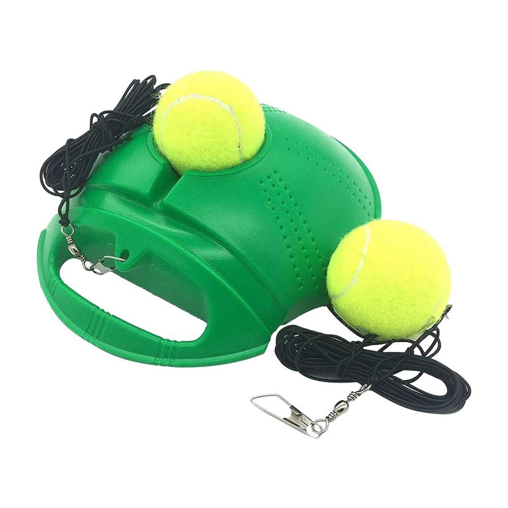 Tennis Base Self-Study Portable Tennis Ball Base Trainer Tennis Baseboard Rebound Training Tool