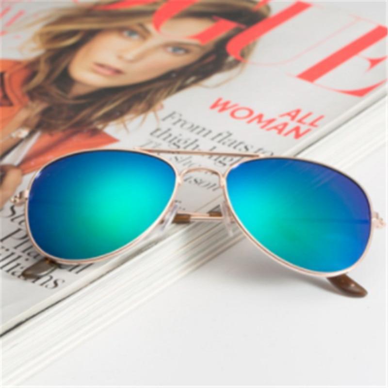 AOXUE New Fashion Piolt Boys Sunglasses Kids Mirror Children Brand Design Protection Glasses Girls Goggle Gafas UV400