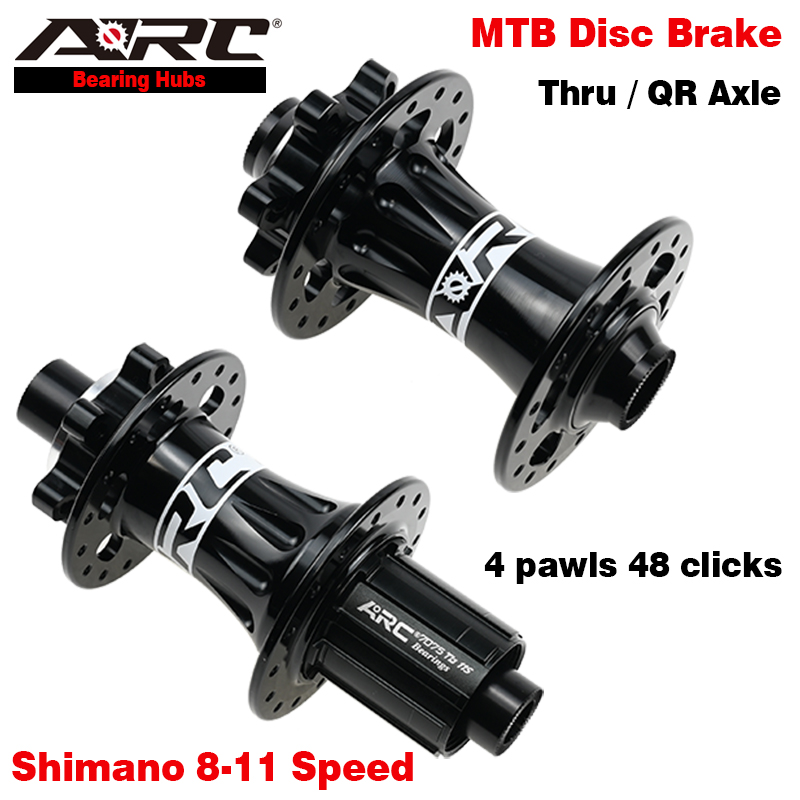 ARC 4 герметичный подшипник дисковый тормоз велосипедный концентратор MTB горный велосипед концентратор 32 отверстия 4 Pawls 48 кольцо 8-11 скорость ...
