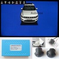 Cámara de visión para VW Tiguan, Tiguan L, 360 grados, ojo de pájaro, AVM, DVR, 1080P, con dirección activa, marcha atrás, línea de trayectoria