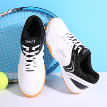 New Professional Tennis Shoes Men Light Weight Tennis Sneakers Breahtable Badminton Shoes Men High-quality Tennis Sneakers