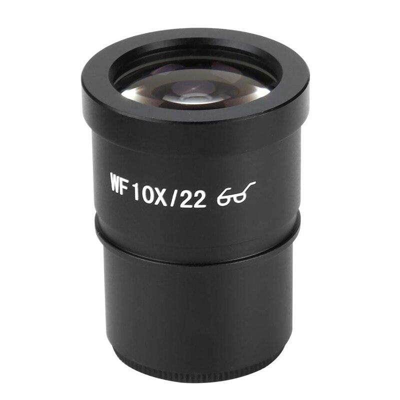 2 pces wf10x 22 acessórios do microscópio