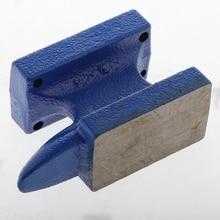 Mini boynuz örs şekillendirme Metal çalışma tezgahı blok Metal demirci takı yapımı 6x3.3x9 cm