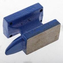 Mini róg kowadło formowanie do obróbki metalu ławka blok Metalsmith tworzenia biżuterii 6x3.3x9 cm