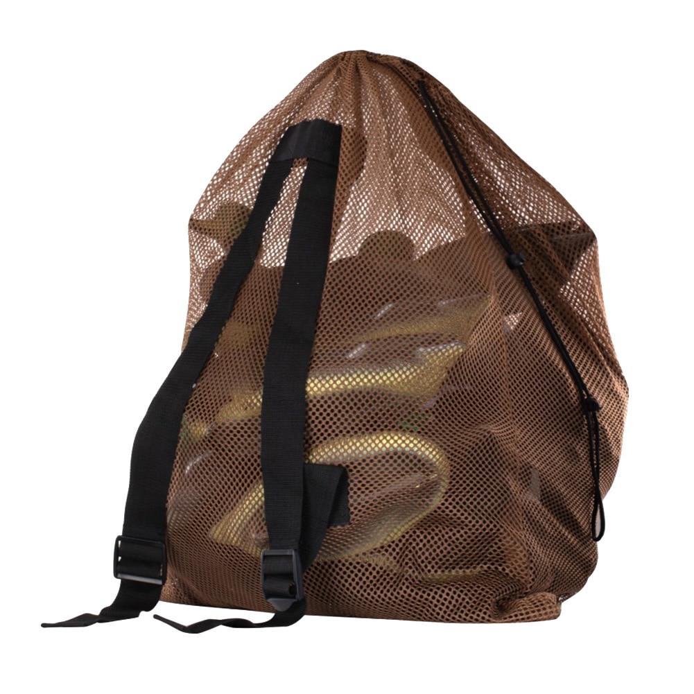 Подсадная сетка сумка охотничья сумка для поддельной утки индейки водоплавающая Сова Marllard переноски ZJ55 - Цвет: Yellow S