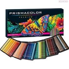 PRISMACOLOR – crayons de couleur à l'huile, 24/48/72/132/150 couleurs, crayons de couleur en bois pour croquis d'artiste, fournitures scolaires