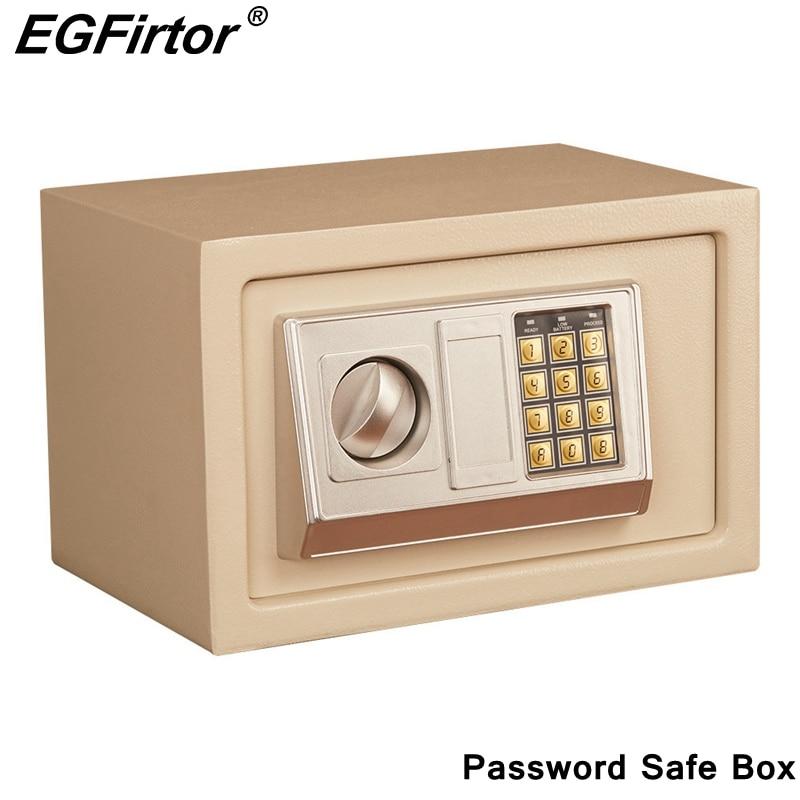 디지털 암호 미니 안전 상자 드롭 현금 안전 상자 보석 홈 오피스 벽 유형 보안 경보 상자 도난 방지 안전 상자금고   -