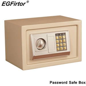 Image 1 - Digital Password Mini Safety Box Drop Cash Safe Box Jewelry Home Office Wall Type Security Alarm Box Anti theft Safe Box