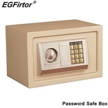Mini caja de seguridad con contraseña Digital caja de seguridad para joyas, hogar, pared para oficina, tipo alarma de seguridad, caja de seguridad antirrobo
