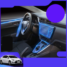 Lsrtw2017 TPU Car Interior Central Control Protective Film for Toyota Levin 185T CVT 2018 2019 2020