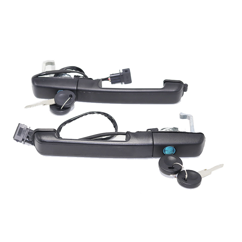 FOR VW PASSAT B3 88-93 OUTER LEFT RIGHT FRONT DOOR HANDLE CENTRAL LOCK W/ KEYS 357837205A 357837206A 357837207A 357837205AS