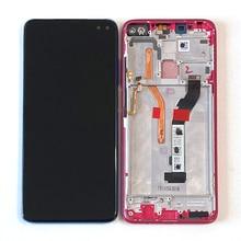 """6.67 """"oryginalny M & Sen dla Xiaomi Redmi K30 ekran LCD z ramką + Panel dotykowy Digitizer dla Xiaomi Poco X2 Mi Pocophone X2"""