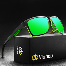 VIAHDA ใหม่แว่นตากันแดด Polarized กีฬา Outdor ผู้ชายออกแบบแบรนด์กระจกสุดหรูสำหรับสตรีแฟชั่นไดร์เวอร์ Shades