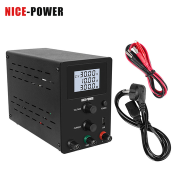 Newest USB Switching DC Power Supply 30V 10A Laboratory Power Supplies Lab Adjustable 60V 5A 120V 3A Voltage Regulator Black image