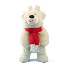 Plush-Backpack Bear-Bag Kindergarten Animals Kids Children Cartoon Polar for Birthday