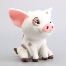 22cm Movie Moana Pet Pig Pua Stuffed Toy Animals Lovely Cute Soft Cartoon Plush Dolls Kids Birthday Christmas Gift(China)