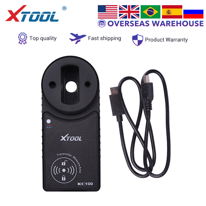 XTOOL KC100 Auto key programmer For XTOOL X100 PAD2 work for VW4&5th IMMO Original  Free shipping