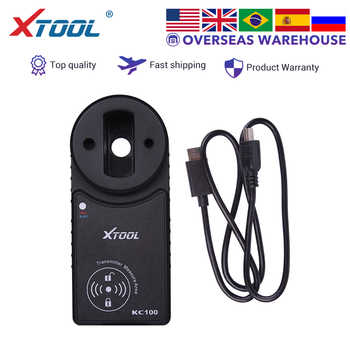 XTOOL KC100 Auto key programmer For XTOOL X100 PAD2 work for VW4&5th IMMO Original  Free shipping - DISCOUNT ITEM  0 OFF All Category