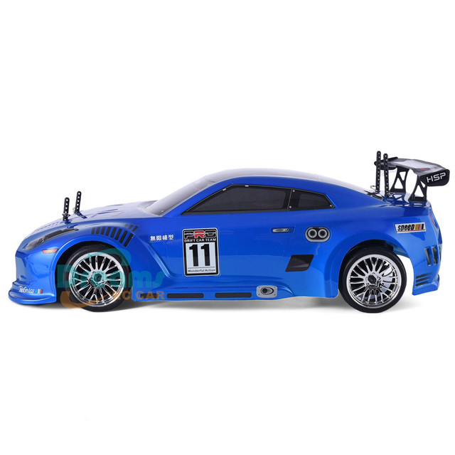 HSP RC Car 4wd 1:10 On Road Racing Two Speed Drift Vehicle Toys 4x4 Nitro Gas Power High Speed Hobby Remote Control Car 2