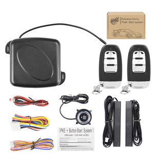 Image 4 - Auto Alarm Start Stop Taste Motor RFID Keyless Entry System Push Button Remote Starter Stop Auto