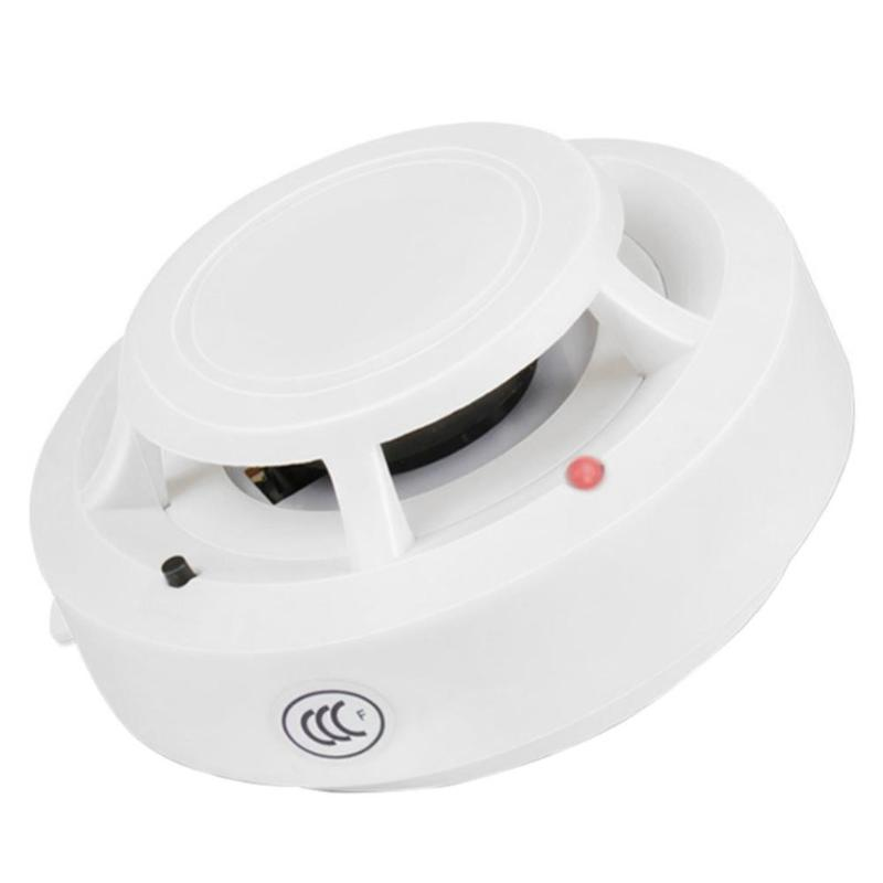 Smoke Fire Detector GD-SA1201W Household Fire Sensitive Sensor Alarm Sensitive Alam Smoke Alam Fire Alerter For Home Security