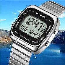 Wasserdichte Uhren SYNOKE Marke Elektronische Digitale Uhren Mode Metall Fall Militär Uhr Männer Uhr Reloj Hombre 2020 Neue