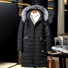 Warm Jacket Women Fur Plus-Size Winter Parka-Coat Hooded Black Thick Man Gray 200kg-Weight-Can-Wear