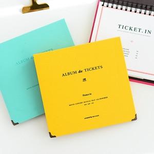 Image 4 - Billets de Concert, papier de Collection dargent, feuille dinterfeuille en cuir PU, billets de voyage, Album, à la mode Album de bricolage