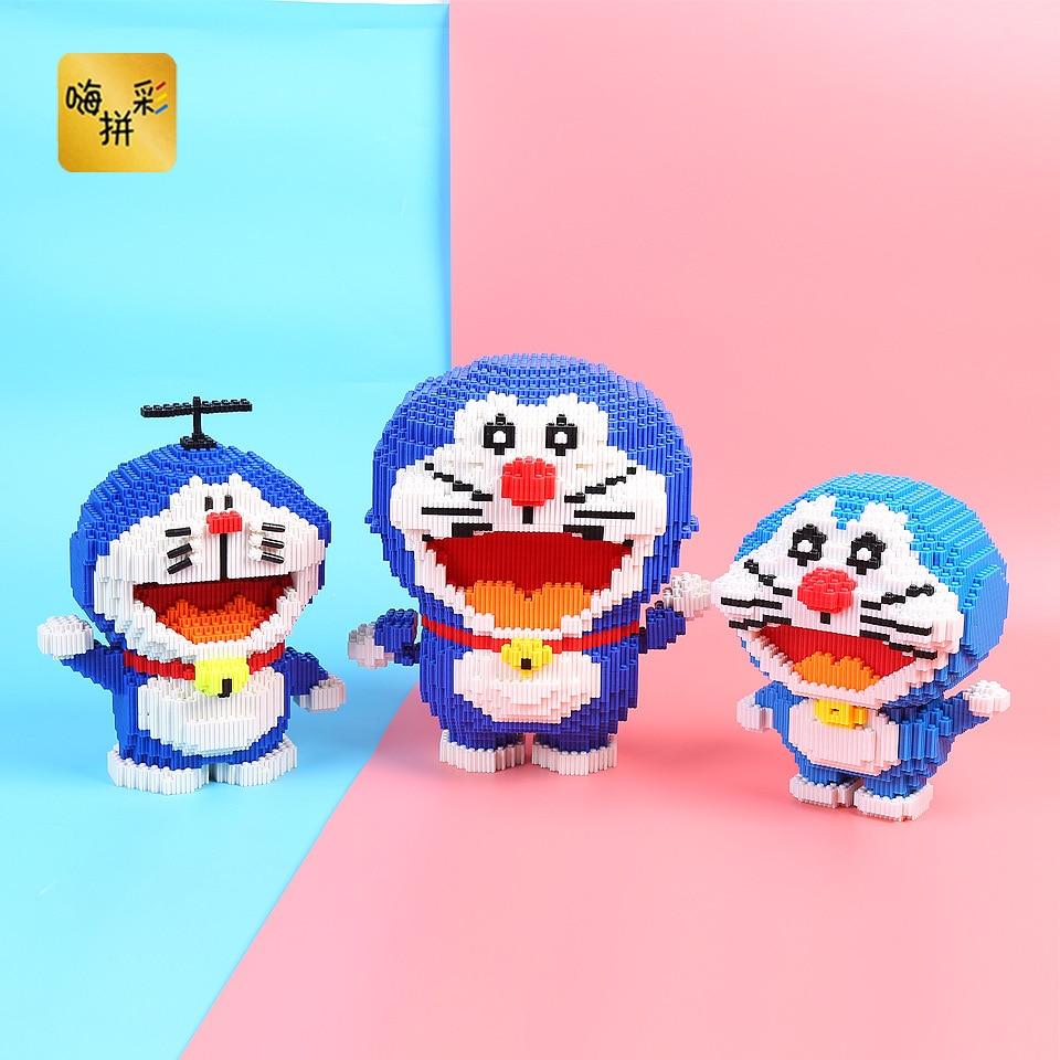Doraemon Building Blocks Toys LegoING Figures Cute DIY Anime Mini Legoing Figures Toys for Children Girls Boys Legoo Minifigures