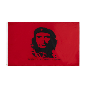 90X150CM cuba revolution hero EI CHE Ernesto Guevara Flag(China)