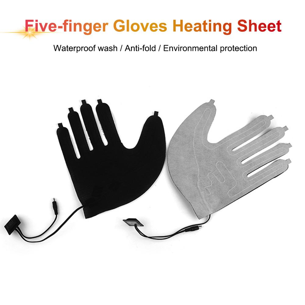 Outdoor Thermal Warm Mittens Heater Shoes Gloves Pad Gloves Heated Pads Electric Heating Element Switch Heating Sheet