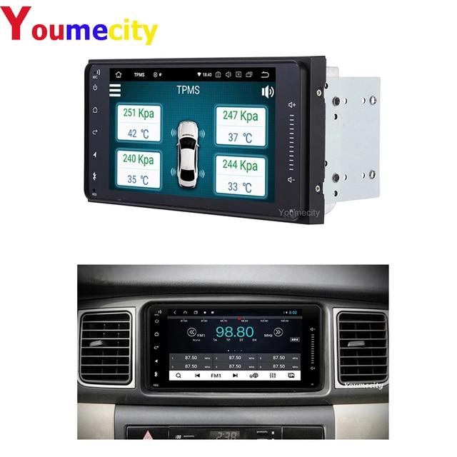 Android Car Radio Stereo Audio Player for Toyota Camry Avalon AVanza Granvia Hiace Kluger Paseo Previa Prius Sienna Solara