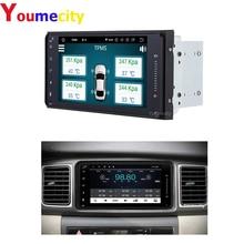 Android Radio Nghe Nhạc MP3 Dành Cho Xe Toyota Camry Avalon AVanza Granvia Hiace Kluger Paseo Previa Prius Sienna Solara