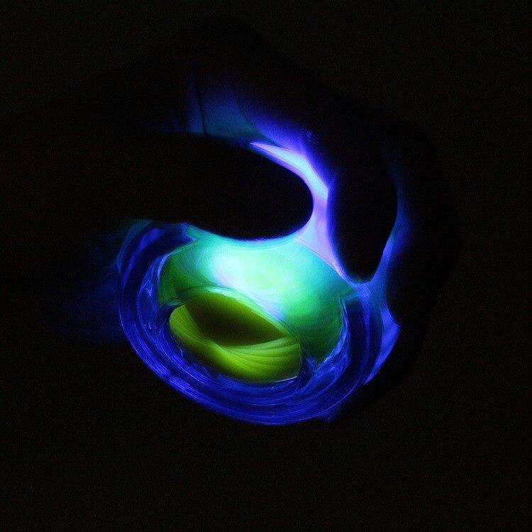 Corda Iluminada Super Gyro Praticando a Força do Braço de Força De Pulso