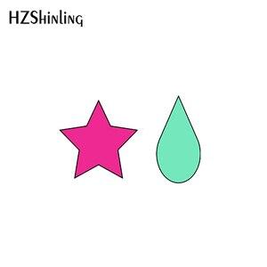 2021 Hunter xHunter hisoka morow Мультяшные аниме акриловые серьги гвоздики из эпоксидной смолы ювелирные изделия для девочек|Серьги-гвоздики|   | АлиЭкспресс