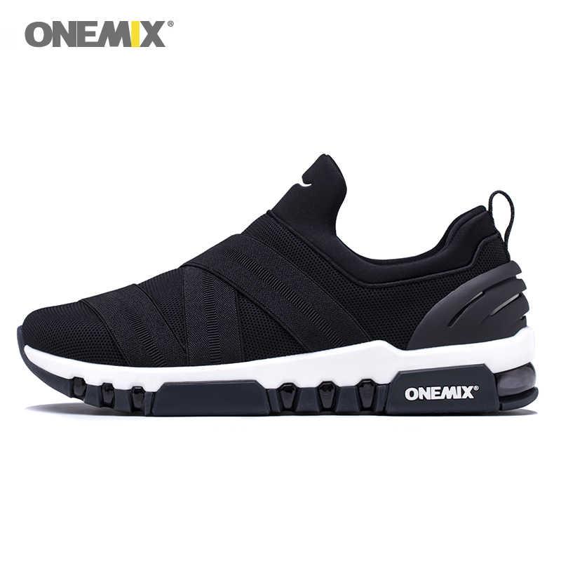 ONEMIX รองเท้าวิ่งชายรองเท้าผู้หญิง NICE Zapatillas รองเท้ากีฬารองเท้าผ้าใบ AIR Cushion Trekking รองเท้าตาข่ายเดินรองเท้า