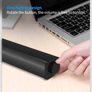 Image 2 - מחשב שולחני רמקול Wired קול בר סטריאו USB מופעל מיני Soundbar רמקולים למחשב נייד לוחות מחשב נייד מקרן