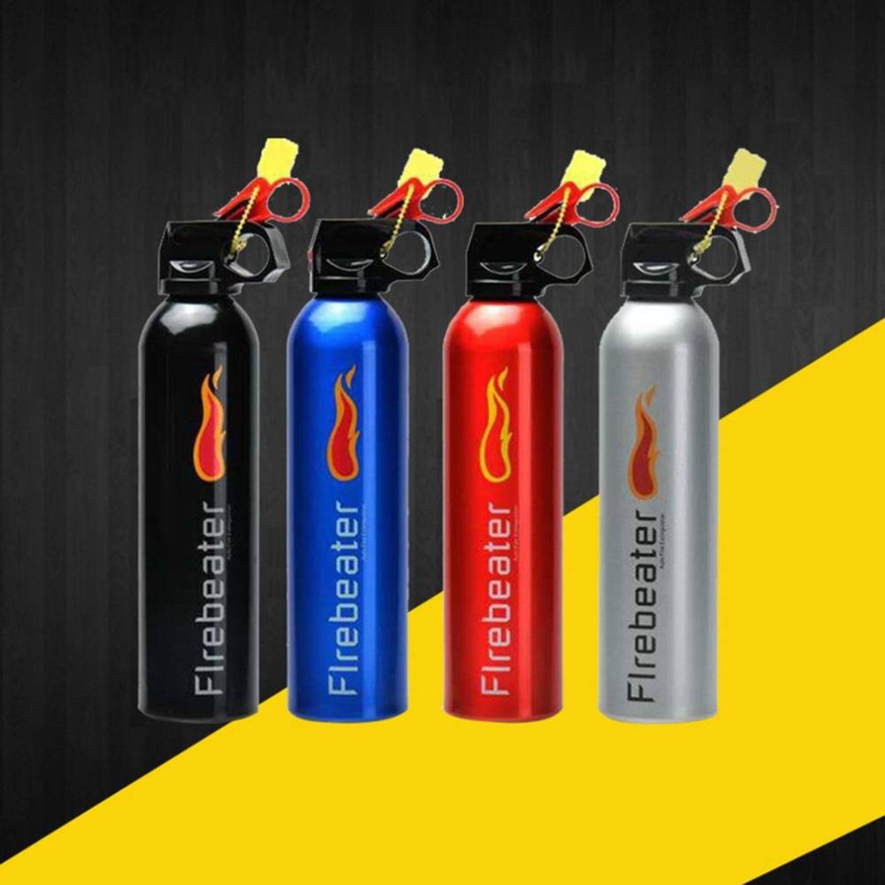 Car Use Hand-held Fire Extinguisher Lightweight Portable Black Fire Extinguisher For Laboratories Hotel Drop Shipping Wholesales