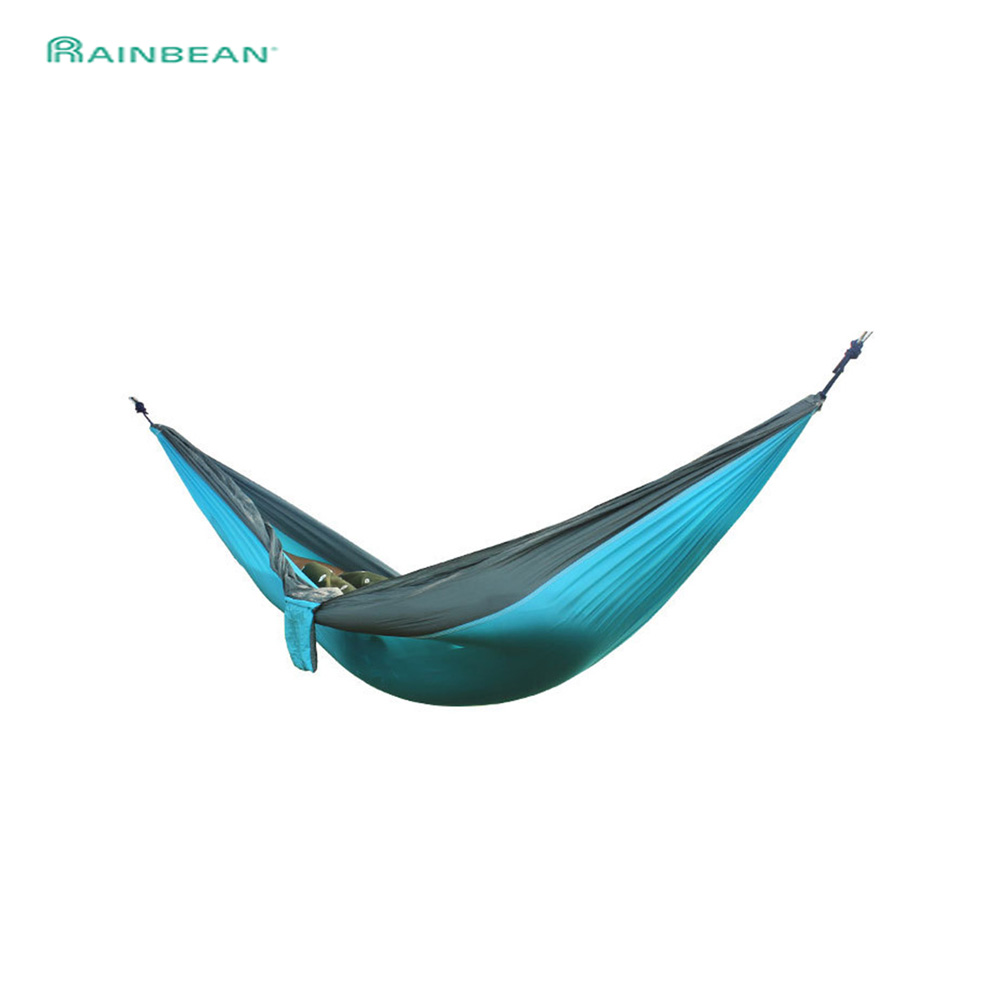 Portable Hammock 1-2 Person Outdoor Furniture For Camping Survival Garden Swing Hunting Hanging Sleeping Chair Travel Parachute