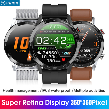L16 długi czas pracy na baterii sport wodoodporny tętno monitorowanie snu przypomnienie o połączeniu podobne Huawei Smart Watch L15 Upgrade tanie i dobre opinie elecete CN (pochodzenie) Z systemem Android Wear Na nadgarstek Zgodna ze wszystkimi 128 MB Krokomierz Rejestrator aktywności fizycznej