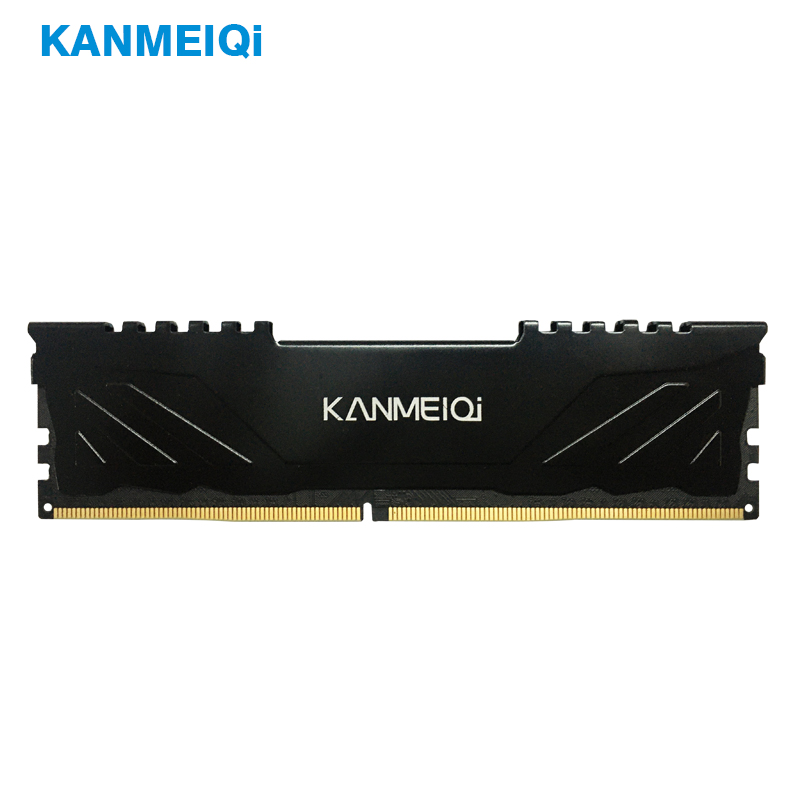 Kanmeiqi DDR3 DDR4 4GB 16GB 8GB Memory 1333 1600 1866 2133 2400 2666 Memory Work Area Desktop Computer RAM With Heat Sink