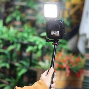Image 4 - Ulanzi GM 3 Gopro Max Metalen Kooi Case Portable 1:1 Koude Schoen Vlog Case Met Verlengen Microfoon Led Light Stand Poort