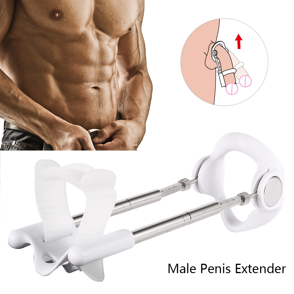 Enlargement Penis Extender Medical Free Penis pump Enlarger Stretcher Male Enhancement Kit Pro Tension Sex Toys for men