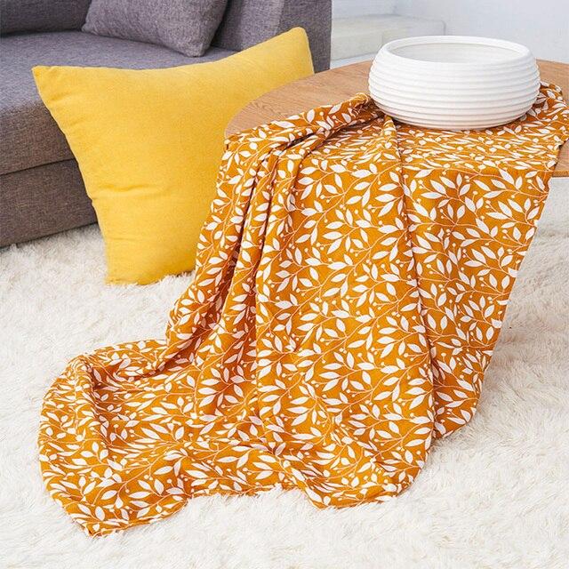Elinfant muslin baby swaddl Blanket Newborn Rayon Stretch Knit Wrap Hammock Swaddling Padding Nubble Wraps Bath Towel For All (0-3 years) Nursery Shop by Age Swaddle Blankets