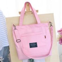 лучшая цена Satchel Shoulder Bag Mother Messenger Women Tote Bag Diaper Bag Ladies Large Capacity Canvas Handbag Solid Satchel Purse Bag